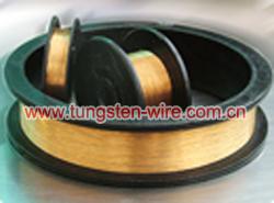 banhado a ouro-fio de tungstênio-