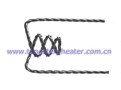 fio de tungstênio encalhado